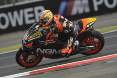 Alex de angelais, moto 2, 2012 Stock Photos