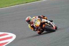 Alex de angelis, généraliste 2014 de moto Photographie stock libre de droits
