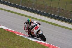 Alex de Angelis am ShellMalaysian Motogp Lizenzfreies Stockbild