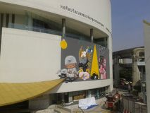 Alex Face - arte tailandesa da rua Imagens de Stock