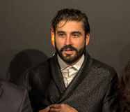 Alex Garcia all'evento del cinema di settimana di prima di Madrid nel quadrato di Callao, Madrid Immagini Stock