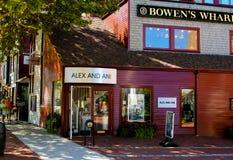 Alex i Ani, Bowen nabrzeże, Newport, RI Obraz Royalty Free