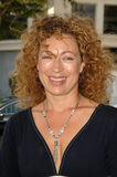 Alex Kingston Stock Photo