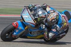 Alex Marquez Moto2 Grand Prix Movistar Aragà ³ ν Στοκ φωτογραφία με δικαίωμα ελεύθερης χρήσης