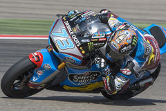 Alex MARQUEZ. Moto2. Grand Prix Movistar of Aragón. Of MotoGP. Aragon, Spain. 27th September 2015 Royalty Free Stock Photography