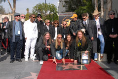 Alex Orbison,Barbara Orbison,Chris Isaak,Dan Aykroyd,Eric Idle,Jeff Lynne,Joe Walsh,Phil Everly,Roy Orbison Stock Photos
