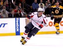 Alex Ovechkin Washington Capitals. Washington Capitals captain Alex Ovechkin #8 stock photo