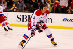 Alex Ovechkin Washington Capitals. Washington Capitals captain Alex Ovechkin #8 stock image