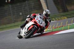 Alex Polita - Ducati 1098R - Barni che corre squadra Immagini Stock Libere da Diritti