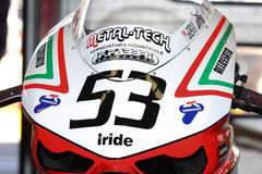 Alex Polita - Ducati 1198R - Barni Racing Royalty Free Stock Photography