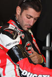 Alex Polita - Ducati 1198R - Barni Racing Royalty Free Stock Photography