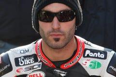 Alex Polita - Ducati 1198R - Barni Racing Royalty Free Stock Image