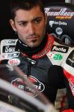 Alex Polita - Ducati 1198R - corsa di Barni immagini stock libere da diritti