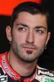 Alex Polita - Ducati 1198R - corsa di Barni fotografia stock libera da diritti