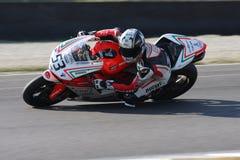 Alex Polita - Ducati 1198R - corsa di Barni immagini stock