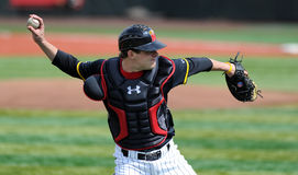 Alex Ramsay - Maryland Baseball catcher Royalty Free Stock Image