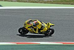 Alex rins in the circuit of Catalonia Stock Images