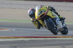 Alex RINS. Paginas Amarillas Team. Grand Prix Movistar of Aragón Stock Image