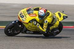 Alex RINS. Paginas Amarillas Team. Grand Prix Movistar of Aragón Stock Photo