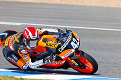 Alex Rins pilot of 125cc  of the CEV Championship Stock Photo