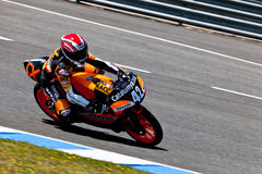 Alex Rins pilot of 125cc  of the CEV Championship Stock Image