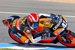 Alex Rins pilot of 125cc  of the CEV Championship Royalty Free Stock Images