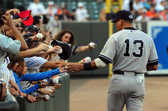 Alex Rodriguez, New York Yankees Royalty Free Stock Images