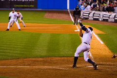 Alex Rodriguez strikes Stock Photos