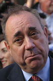 Alex Salmond during the 2014 Indy Ref Royalty Free Stock Photos
