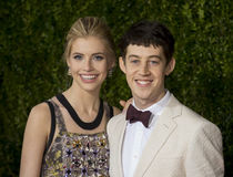 Alex Sharp at 2015 Tony Awards Royalty Free Stock Photos