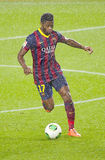 Alex Song of FC Barcelona Royalty Free Stock Images