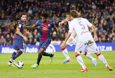 Alex Song of FC Barcelona Stock Image