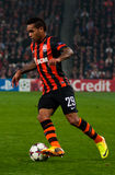 Alex Teixeira, a player of FC Shakhtar (Donetsk) Royalty Free Stock Images