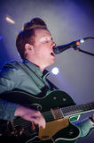 Alex Trimble, clube do cinema de duas portas Foto de Stock Royalty Free