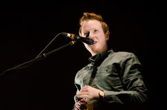 Alex Trimble, Two Door Cinema Club. Two Door Cinema Club performed at The O2 Dublin on Saturday, January 19th. This is their lead singer, Alex Trimble. http:// Stock Photos