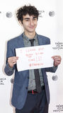 Alex Wolff. New York, NY, USA - April 24, 2014: Actor Alex Wolff attends the 'Palo Alto' Premiere during the 2014 Tribeca Film Festival at the SVA Theater in New stock images