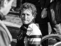 Alex Zanardi, ποδήλατα χεριών δειγμάτων Στοκ φωτογραφίες με δικαίωμα ελεύθερης χρήσης