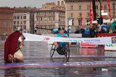 Alex Zanardi 23 ^ Rzym maraton Zdjęcia Royalty Free