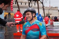 Alex Zanardi 23 ^ Rzym maraton Obraz Stock