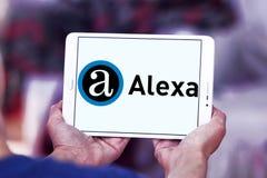 Alexa互联网公司商标 免版税库存照片
