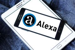 Alexa互联网公司商标 图库摄影