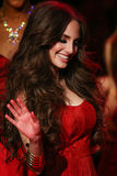 Alexa Ray Joel walks the runway at the Go Red For Women Red Dress Collection 2015 Stock Images