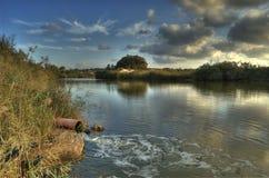 alexande rzeka Obraz Royalty Free