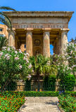 Alexander Ball Monument. The Alexander Ball monument in the Lower Barrakka gardens in Valletta Royalty Free Stock Photography