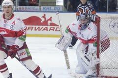 Alexander Borisov, goaltender Stock Image