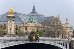 alexander bridżowy France iii Paris Zdjęcia Royalty Free