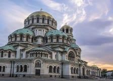 alexander Bulgaria katedralny nevsky Sofia Obraz Stock