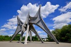 The Alexander Calder sculpture stock photography