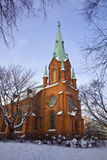 Alexander Cathedral In Tampere Royalty Free Stock Photos
