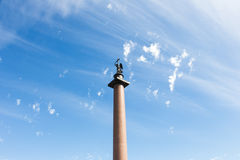 Alexander column Royalty Free Stock Image